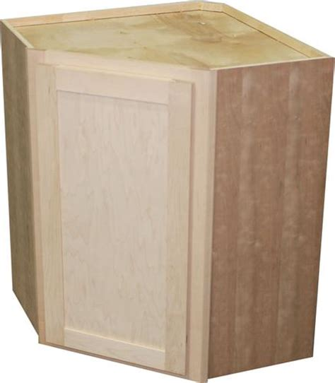 Corner Bathroom Cabinet Menards by Quality One 24 Quot X 30 Quot Unfinished Maple Diagonal Corner