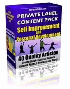 Private Label Article Pack : Self Improvement Articles PLR ...