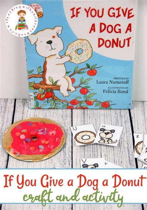 preschool craft activity  give  dog  donut