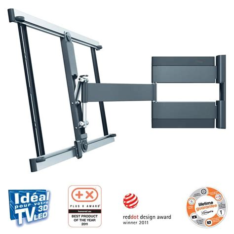 support mural tv orientable 180 vogel s thin345 support tv mural 180 176 40 224 65 quot support mural prix pas cher cdiscount