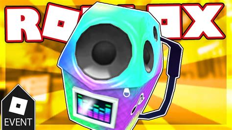 event     boombox backpack roblox youtube