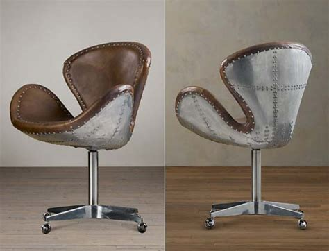 aviator desk chair restoration hardware garagemahals restoration hardware 39 s aviator wing desk is