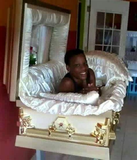 Casket girls, new orleans, la. Young Beautiful Girl Spotted Inside A Coffin - Photo ...
