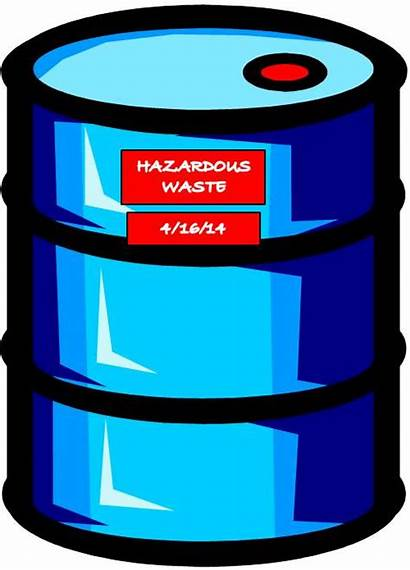 Waste Clipart Hazardous Container Clip Containers Chemicals