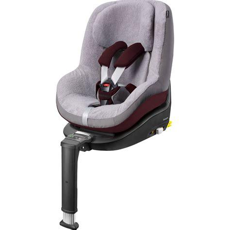 housse confort siege auto housse eponge pour siège auto pearl cool grey de bebe confort
