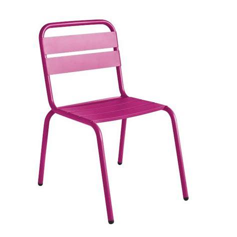 chaise aluminium pas cher chaise metal pas cher