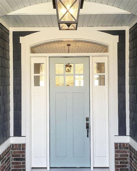 grey front door paint color benjamin moore wedge shingle