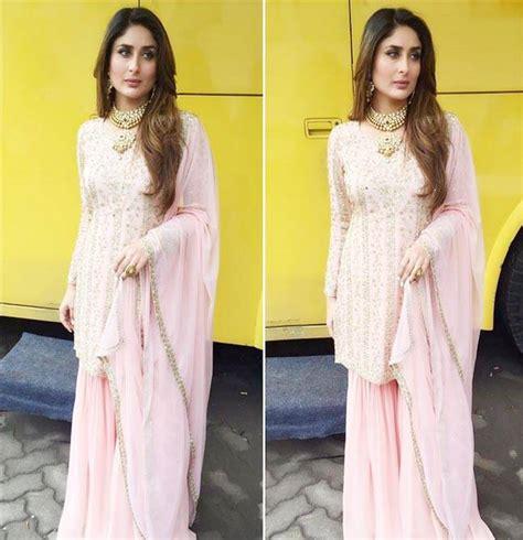 pastel pink dress you 39 ll want kareena kapoor 39 s indian wear asap