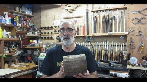 wood turning yew hollow form  youtube
