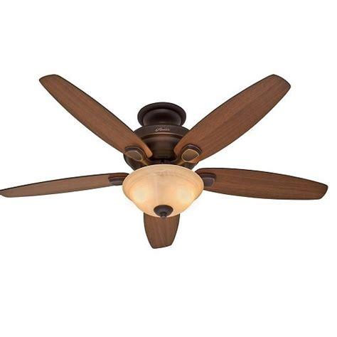 light fixture for hunter ceiling fan hunter refurbished newburgh 54 quot onyx bengal ceiling fan