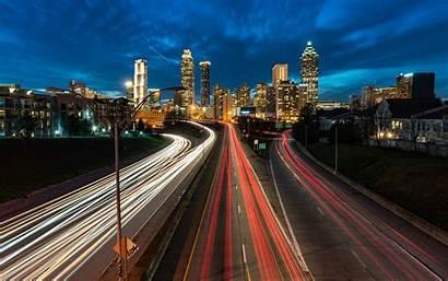 Skyline Atlanta 4k Desktop Laptop Wallpapers Street