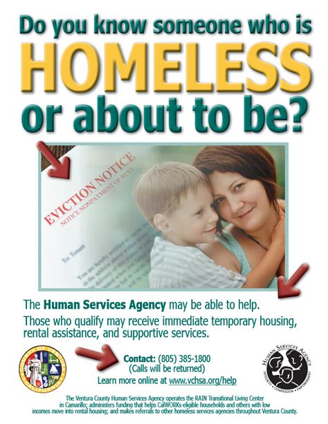 Services for Homeless People - Ventura County