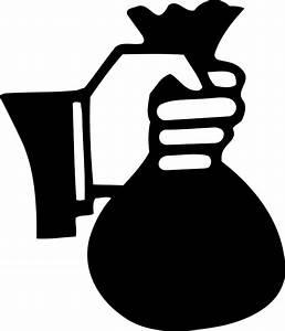Sac À Main Transparent : image vectorielle gratuite sac d 39 argent main image ~ Melissatoandfro.com Idées de Décoration