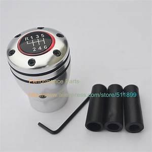 6 Speed Manual Transmission Auto Gear Shift Knob 6mt