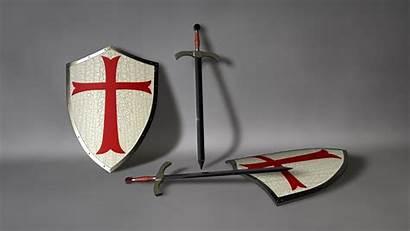 Templar Knights Shield Knight Cross Wallpapers Medieval