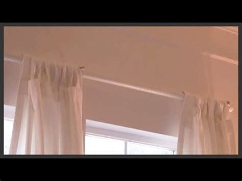 traverse rod curtains install how to restring a traverse curtain rod how to save money