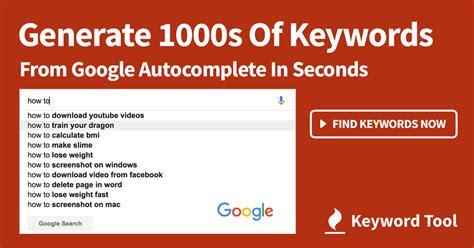 Keyword Tool #1 Google Keyword Planner Alternative For