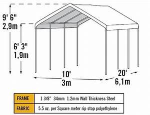 Shelterlogic 10 X 20 Max Ap 8 Leg Canopy With Enclosure Kit