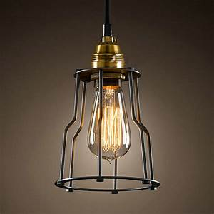 Hot sell vintage industrial iron lamps retro pendant