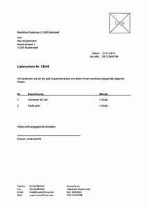 Vordruck Lieferschein : vorlage f r lieferschein zum kostenlosen download ~ Themetempest.com Abrechnung