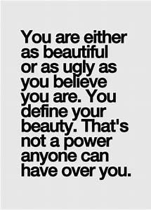 Beautiful Outsi... Outside Beauty Quotes