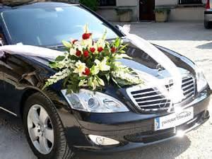 deco voiture mariage arrière - Voiture De Mariage