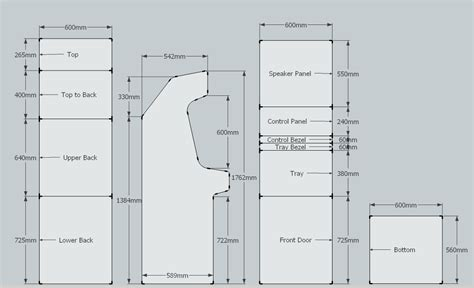Arcade Cabinet Plans by Arcade Cabinet Plans Woodworking Hacks
