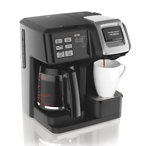 On the list are models from oxo, takeya, filtron, espro and others. Hamilton Beach 49976 Flex brew 2-Way Brewer Programmable Coffee Maker, Black: Amazon.ca: Home ...
