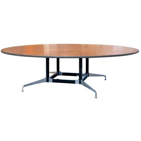 Eames For Herman Miller Round Eight Foot Conference Table