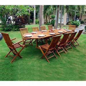 Table En Teck Jardin : salon en teck meublez de jardin table 12 places ~ Melissatoandfro.com Idées de Décoration