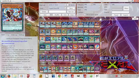 character deck yuya sakaki s deck version 1 by