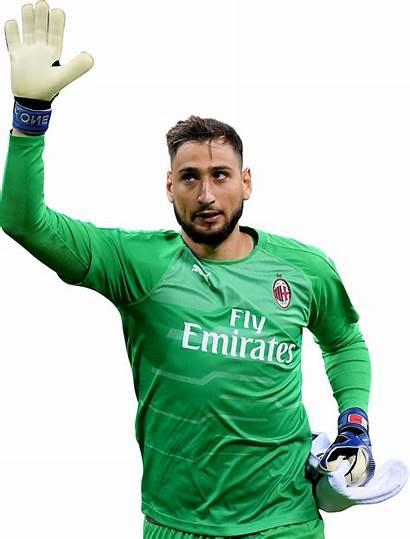 Donnarumma Gianluigi Render Milan Ac Footyrenders Football