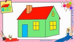 Dessin Maison 2 Comment Dessiner Une Maison FACILEMENT