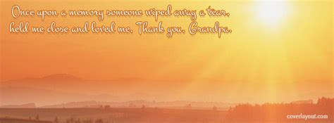 sad quotes about death of a grandpa