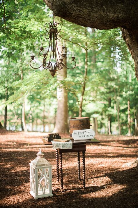 A Heartfelt Rustic Vintage Woodland Wedding Full Of Diy
