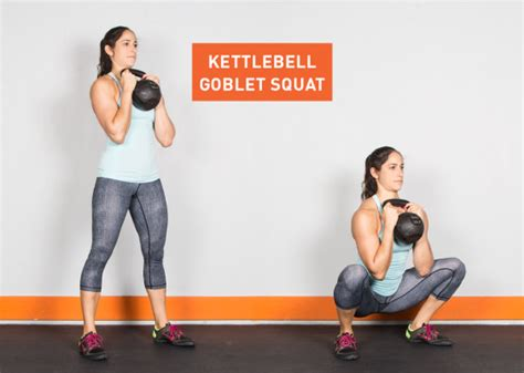 kettlebell squat goblet exercises exercise workout fitness ass body pull kettle bell workouts greatist standing main kick con killer pesa