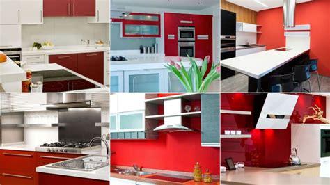 decoracion de cocinas en color rojo hogarmania