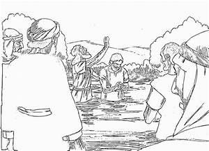 John Baptizes Jesus Craft
