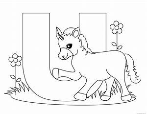 alphabet coloring pages for preschool - printable alphabet letters uppercase letter u is for