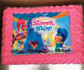 Shine and Shimmer Birthday Cake