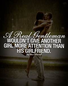 A real gentleman wouldn't give another - Picture Quotes