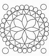 Coloring Pages Circle Rangoli Kaleidoscope Printable Diwali Maiyan Board Mandala Designs Patterns Pattern Easy Sheets Circles Henna Hands Getcolorings Print sketch template