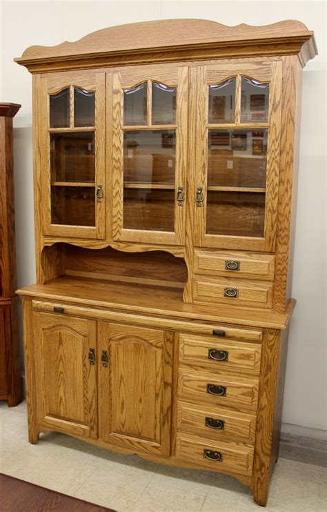 3door Hoosier Style Country Hutch  Amish Traditions Wv