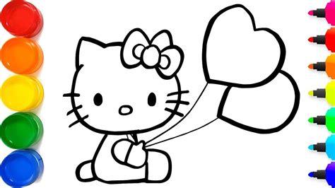 cara menggambar hello yang berkilauan untuk anak