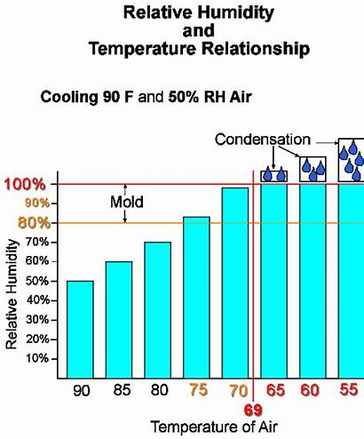 Mold Humidity Temperature Rot Locator Chart Relative
