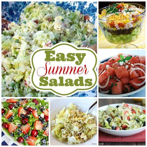 summer salads recipes 6 easy summer salad recipes