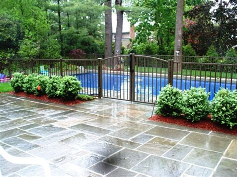 backyard pool fence ideas aluminum pool fence aluminum fence pinterest fences backyard and swimming pools