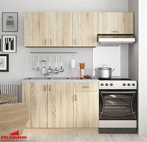 Küchenzeile Küchenblock 180cm 168882 Sonoma Eiche