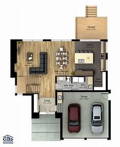 manhattan maison neuve a deux etages de type cottage With plan maison deux etages