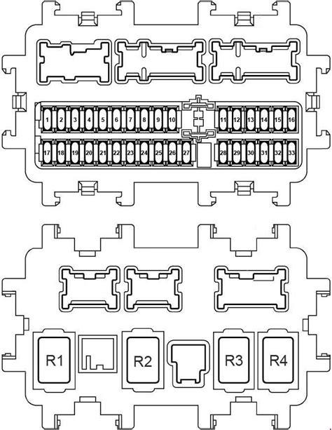 nissan  trail   fuse box diagram auto genius